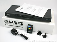 DarbeeVision DVP-5100CIE DVP-5100CIE Custom Installer Edition Video Processor, included items