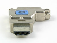 Gefen ADA-HDMIM-2-DVIFL HDMI-male to DVI-female adapter, HDMI contact points