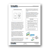 Intelix ASW-WP Quick Start Guide, PDF format
