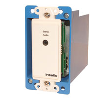 Intelix AVO-A2MINI-WP-F Stereo Audio Wallplate Balun
