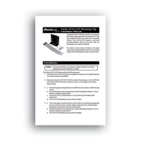 Intelix AVO-CLIP-F Balun Mounting Clip - Installation Manual in PDF format