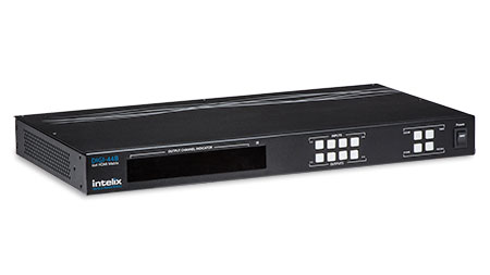 Intelix DIGI-44B 4x4 HDMI Matrix Switcher / HDBaseT Distribution System
