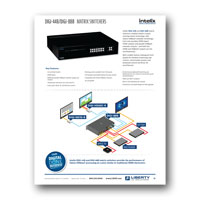 Intelix DIGI-44B Matrix Distribution System Flyer - Click to download PDF