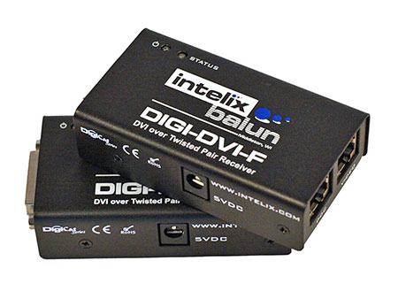 Intelix DIGI-DVI-F DVI over Twisted-Pair Balun / Extender