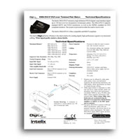 Intelix DIGI-DVI-F DVI over Twisted-Pair Balun / Extender - Specs (click to download PDF)