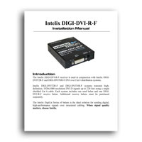 Intelix DIGI-DVI-R-F DVI Receive Balun - Extra Receiver for Intelix Twisted-Pair Distribution Systems - Manual (click to download PDF)