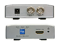 Intelix DIGI-HD-COAX2-S HDMI over Coax Extender - sender unit panel drawings