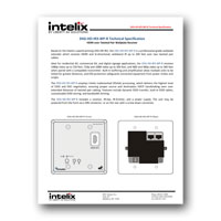 Intelix DIGI-HD-IR3-R HDMI and IR Balun - HDMI v.1.3b and IR over Twisted-Pair Extender System - Specs (click to download PDF)