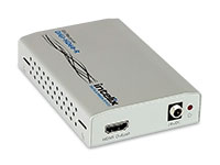 Intelix DIGI-HD60-R HDMI, bi-directional IR, RS232 and Ethernet via HDBaseT Receiver, front-right