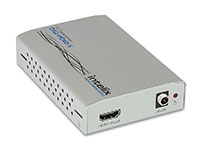 Intelix DIGI-HD60-S HDMI, bi-directional IR, RS232 and Ethernet via HDBaseT Transmitter, front-right