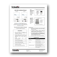 Intelix DIGI-HDE Instruction Manual