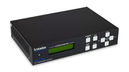 Intelix DIGI-P52 Presentation Switcher/Scaler with HDMI, VGA and HDBaseT Outputs