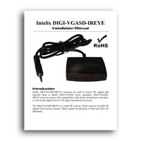 Intelix DIGI-VGASD-IREMT IR Receiver - manual (click to download PDF)