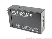 Intelix DL-HDCOAX-S HDMI over Coax Extender - receiver unit