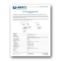 Intelix DL-HDV Technical Spec Sheet, PDF