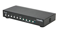 Intelix HD-4X1 4x1 HDMI Switcher with audio return channel - front-right