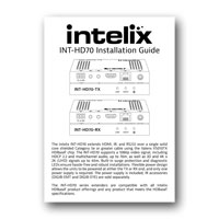 Intelix INT-HD70-RX Installation Guide - PDF