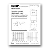 Jensen Transformers JT-10KB-DPC Data Sheet - click to download PDF