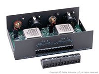 Jensen Transformers ISO-MAX PC-2XR Stereo Pro to Consumer Converter / Isolator - a peek inside