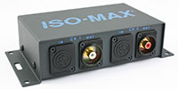 Jensen Transformers SC-2NR ISO-MAX Stereo Speaker to Line Converter with Ground Loops Isolation