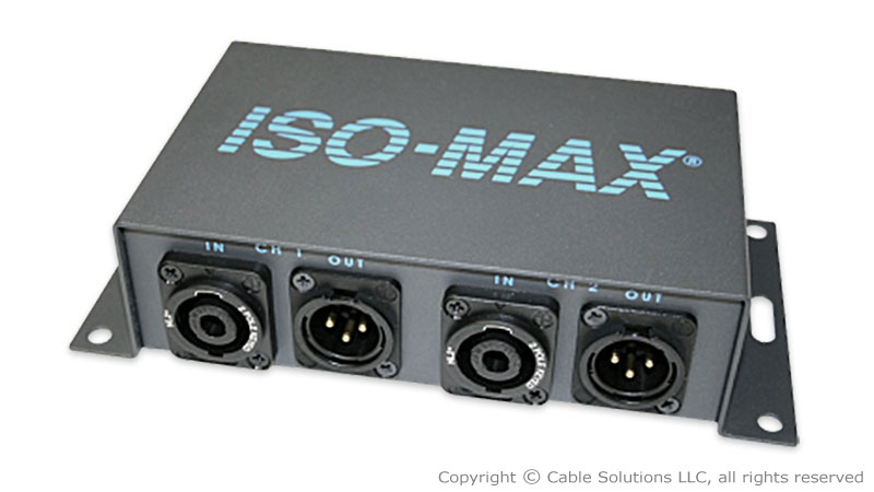 Jensen Transformers SP-2SX Stereo Speaker to Line Audio converter