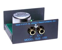 Jensen Transformers SUB-1RR ISO-MAX Low-Frequency Audio Input Isolator / Hum Eliminator - inside view