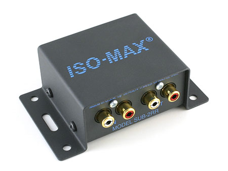Jensen Transformers SUB-2RR ISO-MAX 2-Channel Low-Frequency Audio Isolator / Hum Eliminator