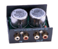Jensen Transformers SUB-2RR ISO-MAX 2-Channel Low-Frequency Audio Isolator / Hum Eliminator - inside view
