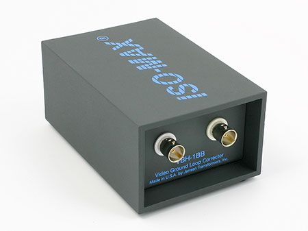 Jensen Transformers VBH-1BB ISO-MAX Studio-Quality Isolator / Corrector for Video