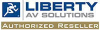 Liberty AV Authorized Reseller Seal