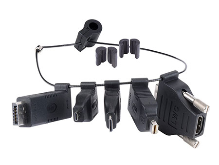 Liberty DL-AR HDMI Adapter Ring with 5 Adapters