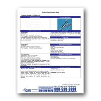 Liberty AV LUTRON-YEL, Lutron GRX-CBL-346S spec Universal Control and power Cable, Spec Sheet, PDF