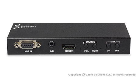 TechLogix Networx TL-2X1-HDVC VGA/HDMI Smart Switcher with control