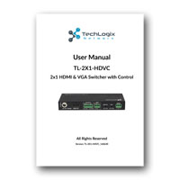 TechLogix Networx TL-2X1-HDVC - User Manual