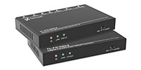TechLogix Networx TL-FO-HDC2 HDMI 2.0 and Control over Fiber Optic Cable Extender