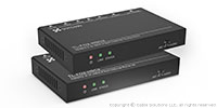 TechLogix Networx TL-FO2-HDC2 HDMI 2.0 and Control over Two Fiber Optic Cable Extender