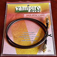 Vampire Wire #TOS2 Optical Digital Audio Interconect Cable