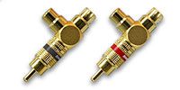 "Vampire Wire #Y Gold-plated ""Y"" Adapters"