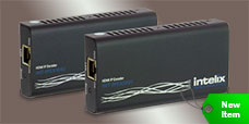 Intelix INT-IPEX1001 / INT-IPEX1002 HDMI over IP Kit